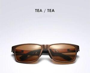 Polarized Fishing Sunglasses Carbon fiber Magnesium frame mirrored UVA UVB TETEA
