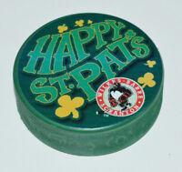 WILKES-BARRE SCRANTON PENGUINS Happy St Pat's St. Patrick's Day GREEN AHL PUCK