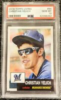 2018 Topps Living Set 94 Christian Yelich MVP *PSA 10 GEM MINT