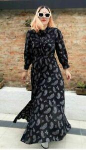 Zara Long PRINTED Shirt  DRESS