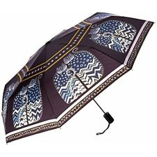 Laurel Burch Compact Umbrella Canopy Auto Open/close, 42-inch, Polka Dot Cats -