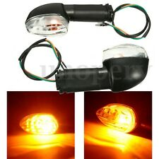 2X Rear Front Amber Turn Signal Light Indicator For YAMAHA YZF R1 R6 FZ1 FZ6 XJ6