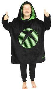 Xbox Oversized Blanket Hooded Fleece For Boys Girls Keep Warm Gaming