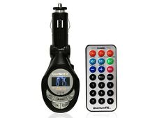 QFX FMT-1 (FMT1) 2 IN 1 Wireless MP3/MP4/WMA FM Transmetter +USB/AUX Inputs