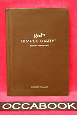 Keel's simple diary - Edition française - Marron