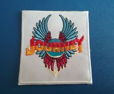 PUNK ROCK HEAVY METAL MUSIC SEW / IRON ON PATCH:- JOURNEY DON'T STOP BELIEVIN'