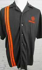 Jagermeister Casual Button Up Polo Shirt Embroidered Bartender Shirt XL
