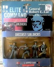 Elite Command Robert E Lee and 3 Confederate Soldiers by Blue Box Toys