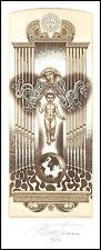 Vial Gennady C5 Exlibris 2000 Organ Music Child Religion Mary Globe Pescara s201