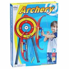 Kids Bow & Arrow Archery Set Suction Targets Indoor Outdoor Children's Activity