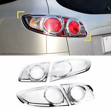 Chrome Rear Tail Lamp Molding Trim Garnish Cover for HYUNDAI 2006-2009 Santa Fe