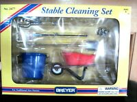 Vintage Breyer Stable Cleaning Set For Traditional Size Horse #2477 MNIB