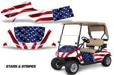 Golf Cart Grafiken Set Sticker Wrap Für Ez-Go Txt 2014-2018 Stars Streifen