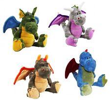 20cm 8 Inch Plush Sitting Dragon Mythical Fantasy Cuddly Toy Teddy *BRAND NEW*