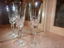 LENOX CYRSTAL CHAMPAGNE GLASSES     Pair