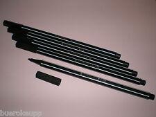 5x Stabilo PEN 68 schwarz Fasermaler Strichstärke 1,0 mm 68/46 NEU