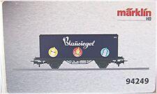 """MÄRKLIN 94249 Vagón contenedor """"Sello azul"""" #nuevo en emb. orig.#"""