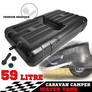 Fresh Water Tank 59 Litres Caravan Camping Underbody Trailer 4WD Motor 4x4 59L