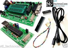 ATMEL 8051 Development Board ZIF,MAX232&89S52 IC+8051 AVR USB ASP ISP Programmer