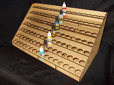 VALLEJO PAINT STORAGE RACK HOLDS 112 VALLEJO 17ml PAINTS!