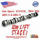 For Gm Truck Stage 2 Cam Low Lift Camshaft Vortec Ls 4.8 5.3 6.0 6.2l Gen3gen4