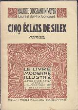 C1 CANADA Grand Nord CONSTANTIN WEYER Cinq Eclats de Silex ILLUSTRE DELATOUSCHE