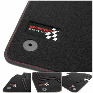Sport Edition Fußmatten für Seat Ibiza 3 6L Stylance FR Cupra Bj. 2002-2008