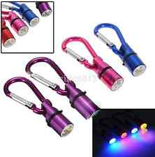 Waterproof Mini Metal Dog Cat Pet Safety Flashing Flash LED Light Collar Tag CA