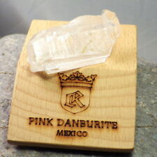 DANBURITE-MEXICO 77.12Ct NATURAL ETCHED FLOATER CRYSTAL-EXTREME RARITY-READ!