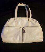 NWOT Authentic FENDI Tote Bag 8BR623 00CV5 Leather WHITE  Purse