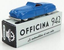 OFFICINA-942 ART2003B SCALA 1/76 FIAT 1500 GHIA CABRIOLET GRAN SPORT 1946 LIGHT