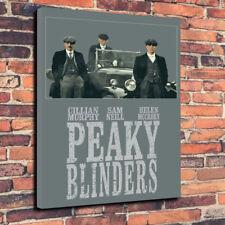 """Peaky Blinder STAMPA FOTO SU TELA A1.30""""x20""""30mm Deep Birmingham Gang."""