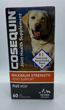 Cosequin DS Plus MSM Maximum Strength Chewable Tablets 60 Ct Exp 5/23