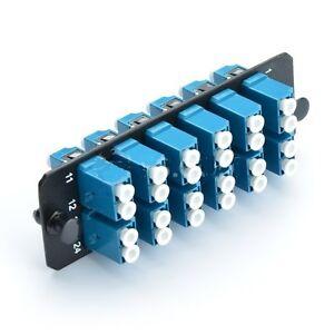 Panduit FAP12WBUDLCZ Compatible FAP with 12 LC Duplex OS1/OS2 SM - 38271