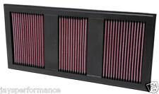 Kn air filter (33-2985) Filtración de reemplazo de alto caudal