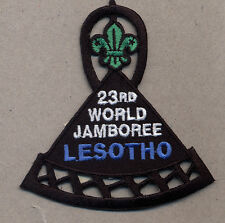 23rd world scout jamboree LESOTHO Contingent bBadge 2015
