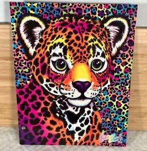 NEW Lisa Frank Portfolio Folder, Hunter, Three Hole, Two Pocket, Glitter