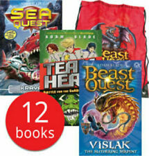 Beast Quest & Other Monsters Kitbag 12 Book Collection
