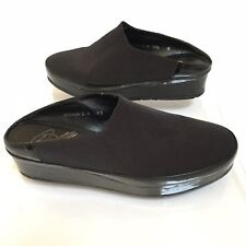 Donald J Pliner Rexana Platform Patent/microfiber Slip On Mules Shoe Sz 8M $198