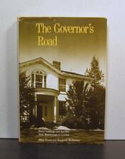 The Governor's Road, Early Buildings & Families, Mississauga to London, Ontario