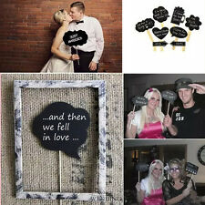10Pcs Creative DIY Photo Booth Props Wedding Engagement Party Photo Decor Stick