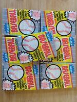 LOT OF 7 1989 Fleer Baseball Wax Packs Ken Griffey #548 RC Billy Ripken FF Error
