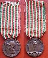 MEDAGLIA CONIATA BRONZO NEMICO CAMPAGNA ITALO AUSTRIACA 1915/18 INCISIONI - S.J.