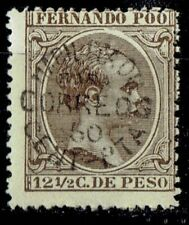 SPANISH FERNANDO POO SPAIN 1898/9 STAMP Sc. # 38 MH