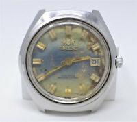 Orologio Orient mechanical watch caliber 205 vintage stainless steel clock 40 mm