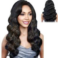 Wigs Fashion Women Party Long Wavy Curly Black Cosplay Synthetic Full Wig New!!