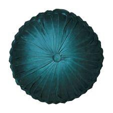 Logan and Mason Tempo Emerald Round Filled Cushion Vintage Glamour 40cm