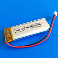 700mAh LiPo Battery 3.7V for MP4 PSP DVD GPS Recorder 702050 JST 1.5mm Connector