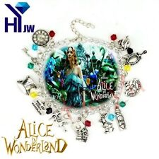 Fairy Tale Story Alice in Wonderland Charm  Bracelet