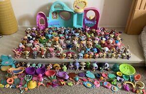 Huge Bundle Of LPS Littlest Pet Shop Figures Play Set & Accessories